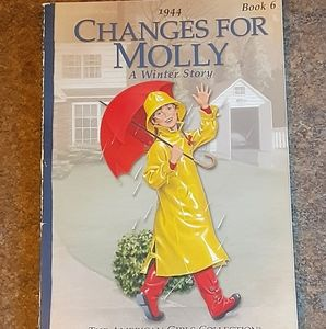 "American Girl ""Changes For Molly"" Children's Softc"